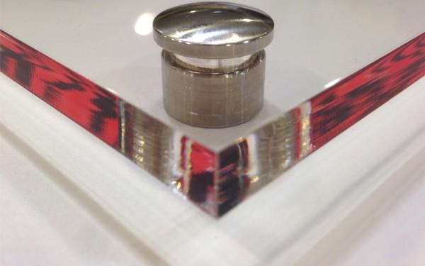 Acryl Schild 10mm ohne Druck